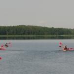 Ežerais nuo Baluošo vaizdai